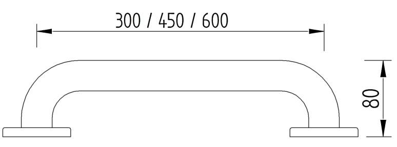 Skizze - Haltegriff - Serie Concept Pro von Lehnen