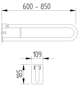 Funktion - Klappgriff für Wechselplatte - Skizze