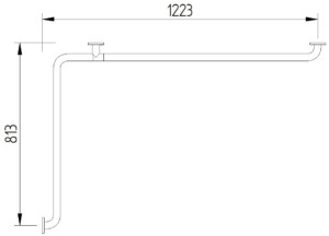 Funktion - Wannenhandlauf - Skizze