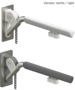Evolution - Klappgriff in reinweiß oder anthrazit mit zwei Elektro-Tastern