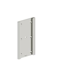 Foto - kleine Montageplatte für Klappgriffe, Edelstahl glatt poliert - Artikel L1065500 - Serie Funktion von Lehnen