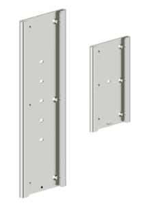 Funktion - Montageplatte für Klappgriff, poliert in zwei Größen