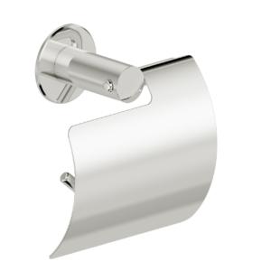Foto - WC-Papierrollenhalter mit Blattstopper, Wandmontage, Edelstahl glatt poliert - Artikel L1100200 - Serie Funktion von Lehnen