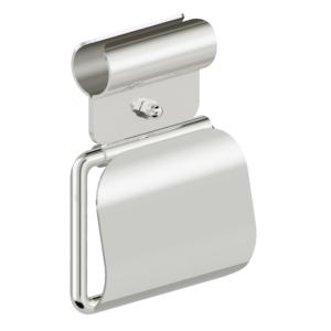 unktion - WC-Rollenhalter mit Klemmbefestigung und Blattstopper - L110321x