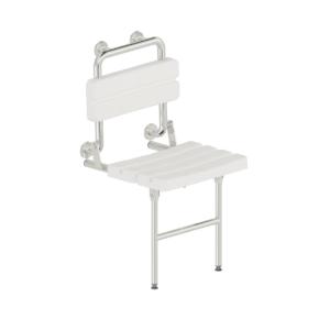 Funktion - Duschsitz Wandmontage mit Fußstütze - L122810x