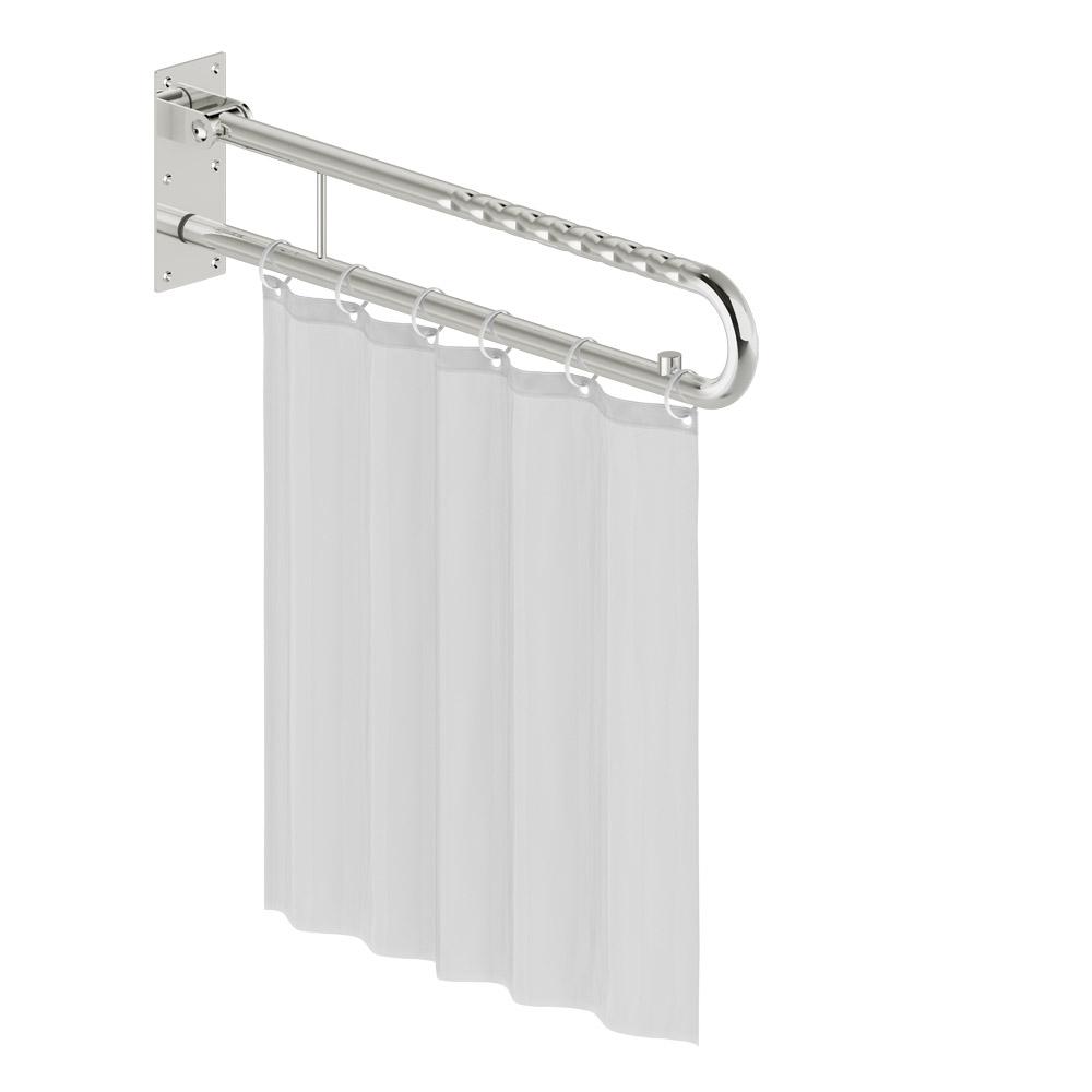 Funktion - Duschspritzschutz mit Vorhang - L1440102