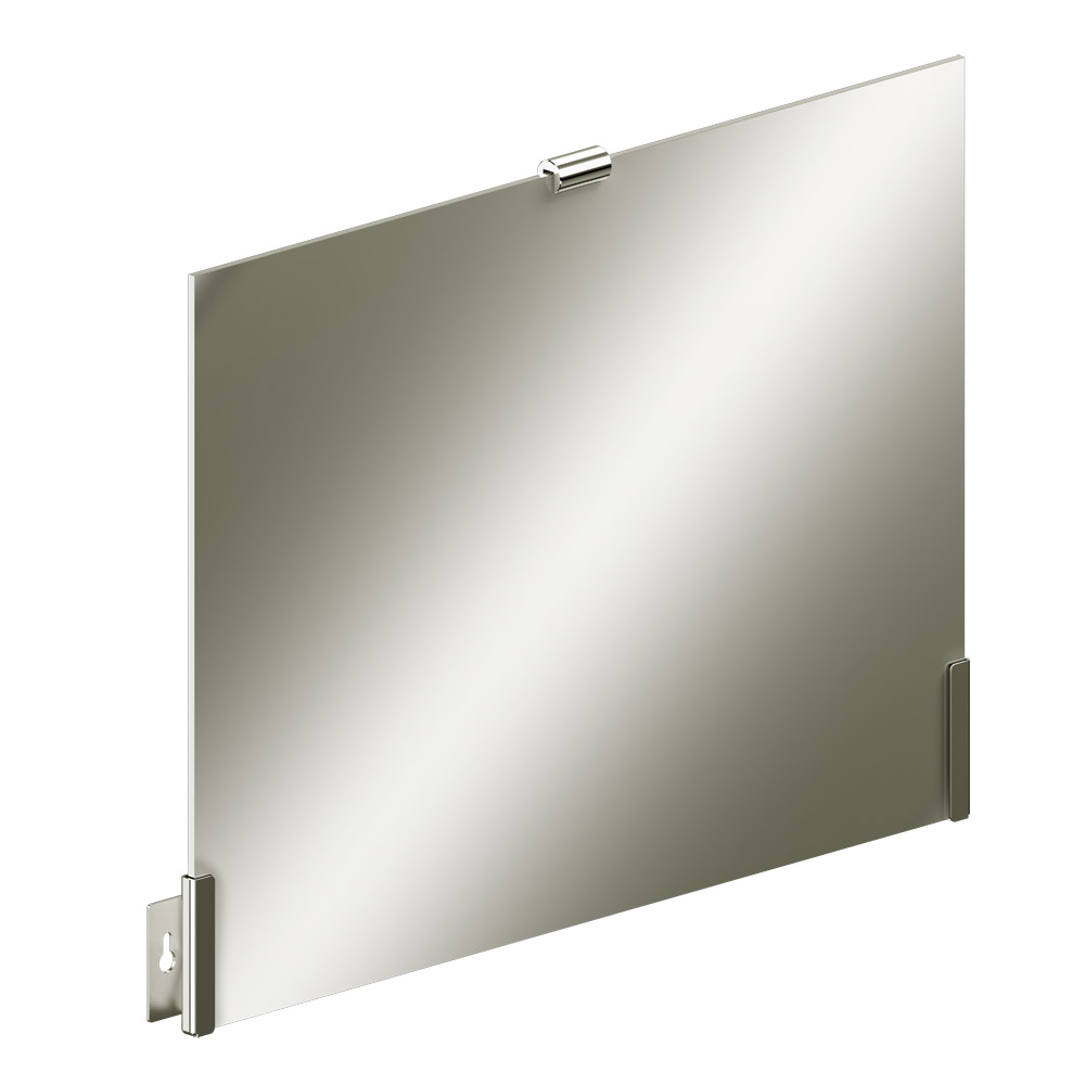 Foto - Kippspiegelgarnitur, dreiteilig, glatt poliert - Artikel L1600100 - Serie Funktion von Lehnen