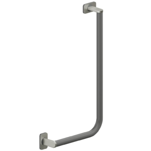Foto - Winkelgriff 90° in anthrazit, 300 x 600 mm, rechte Ausführung - Artikel L30121166 - Serie Evolution von Lehnen