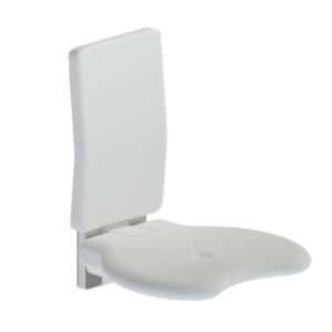 Evolution - Duschsitz mit Rückenlehne - Wandmontiert - L32005001