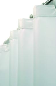 Foto - Duschvorhang Kunststoff weiß - Serie Evolution von Lehnen