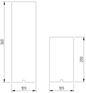 Funktion - Abdeckung für Montageplatte - Skizze