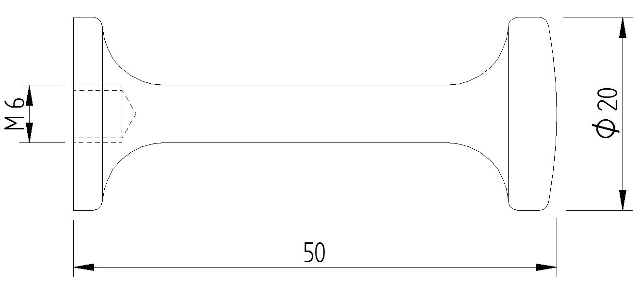 Skizze - Design-Haken wandmontiert - Serie Funktion von Lehnen