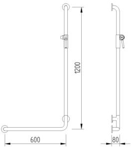 Concept Pro - Duschhandlauf - Skizze