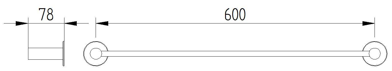 Funktion - Handtuchhalter - Skizze