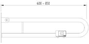 Skizze - Klappgriff in Bügelform mit Funkauslöser - Serie Funktion von Lehnen
