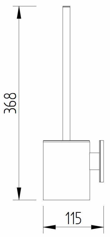 Evolution - WC-Bürstenhalter - Skizze